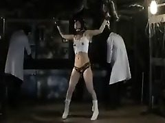Young Asian sweetheart is tied up and endures her punishment in