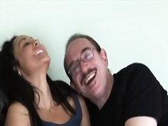 Youthful amateur analy creampied by grandpa