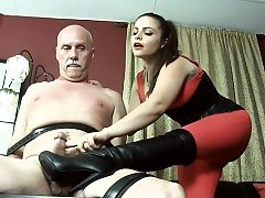 Hot sex industry star domination with orgasm