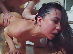 Stepsis Ariel got a raunchy and brutal fucking