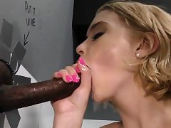 Teen has interracial anal
