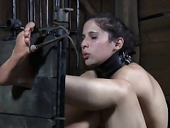 Unsanitary young usherette whipped come by vassalage