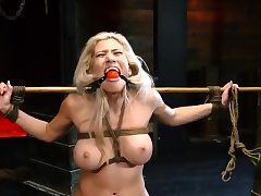 Extraordinary cougar spunk Big-breasted light-haired bombshell