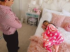 Lying Nanny Gets Creampied