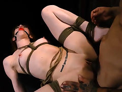 Three s dominate girl and sole humiliation He chains up
