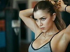 Anllela Sagra. Covert strong, beefy and frightening arms