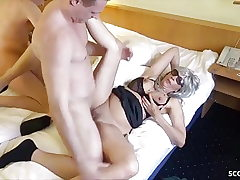 Two German Hooker called by Guys and Fucked Condom-free