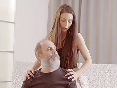 DADDY4K. Teenie babe tells a story about her daddy porn...