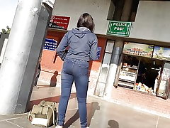 Punjabi Lady In Taut Jeans ( Super-Hot )