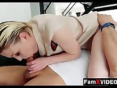 Two blonde chicks both blowing one giant and jummy pecker